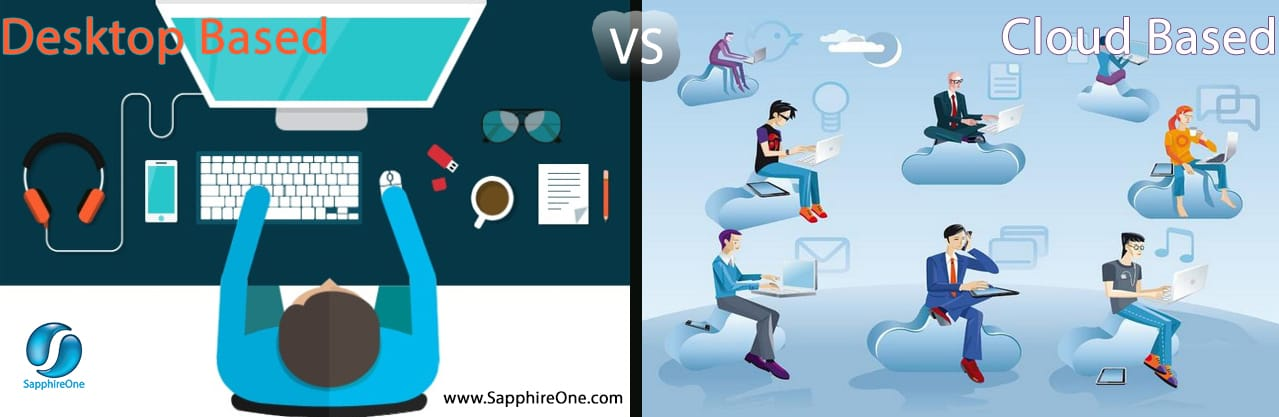 Desktop based vs cloud based accounting software