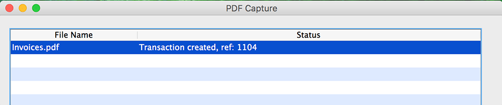 pdf capture successful transactions