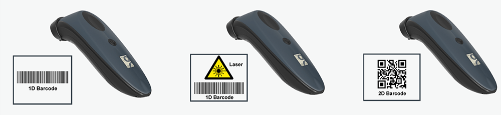 pocket-sized barcode scanner