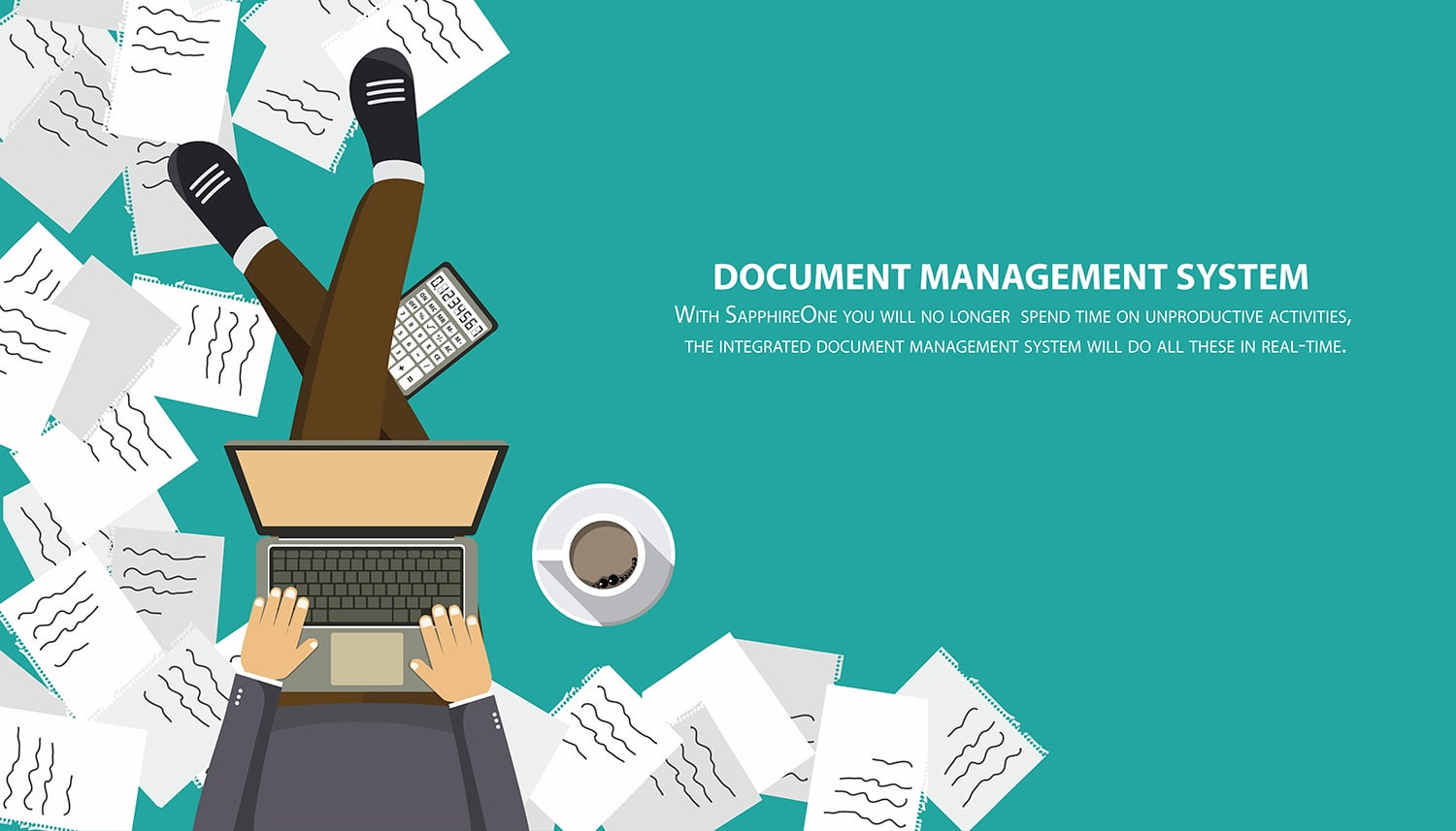 There are lots of Benefits of Integrated Document Management System like SapphireOne ERP