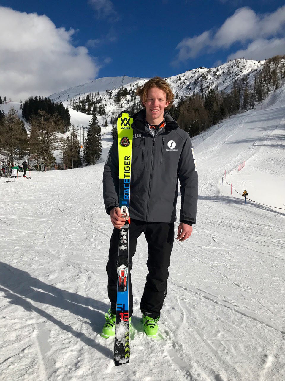 Bondi Teen Sponsored by SapphireOne for the World Junior Championship Alpine Skiing in Davos