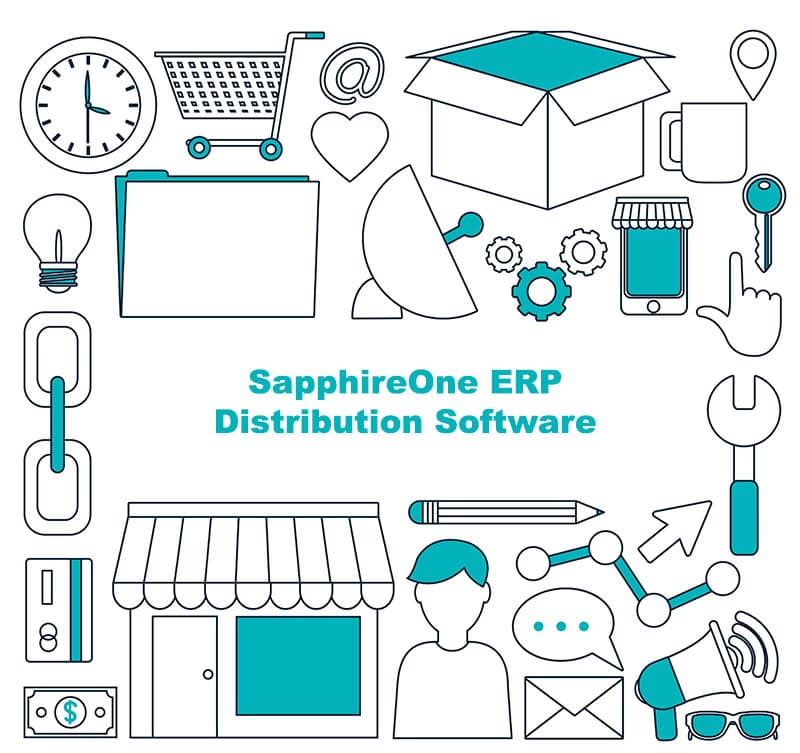 SapphireOne ERP is perfect distribution software for logistics business enterprises