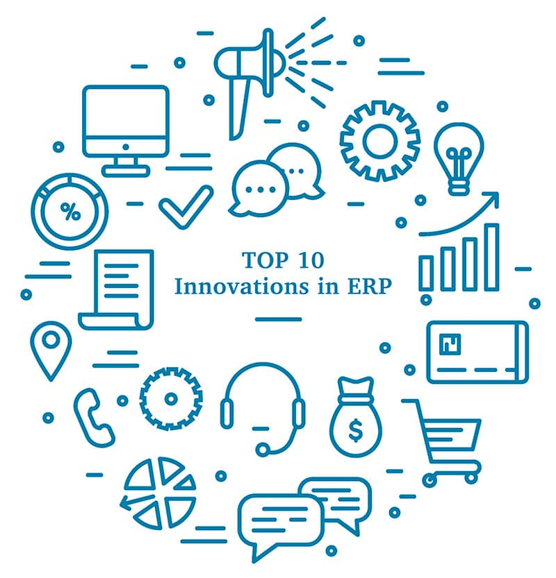 SapphireOne ERP Accounting provides Top 10 innovations in ERP