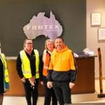 Site visit to Frutex Australia, where Single Touch Payroll in SapphireOne has been in use since 1 July 2018