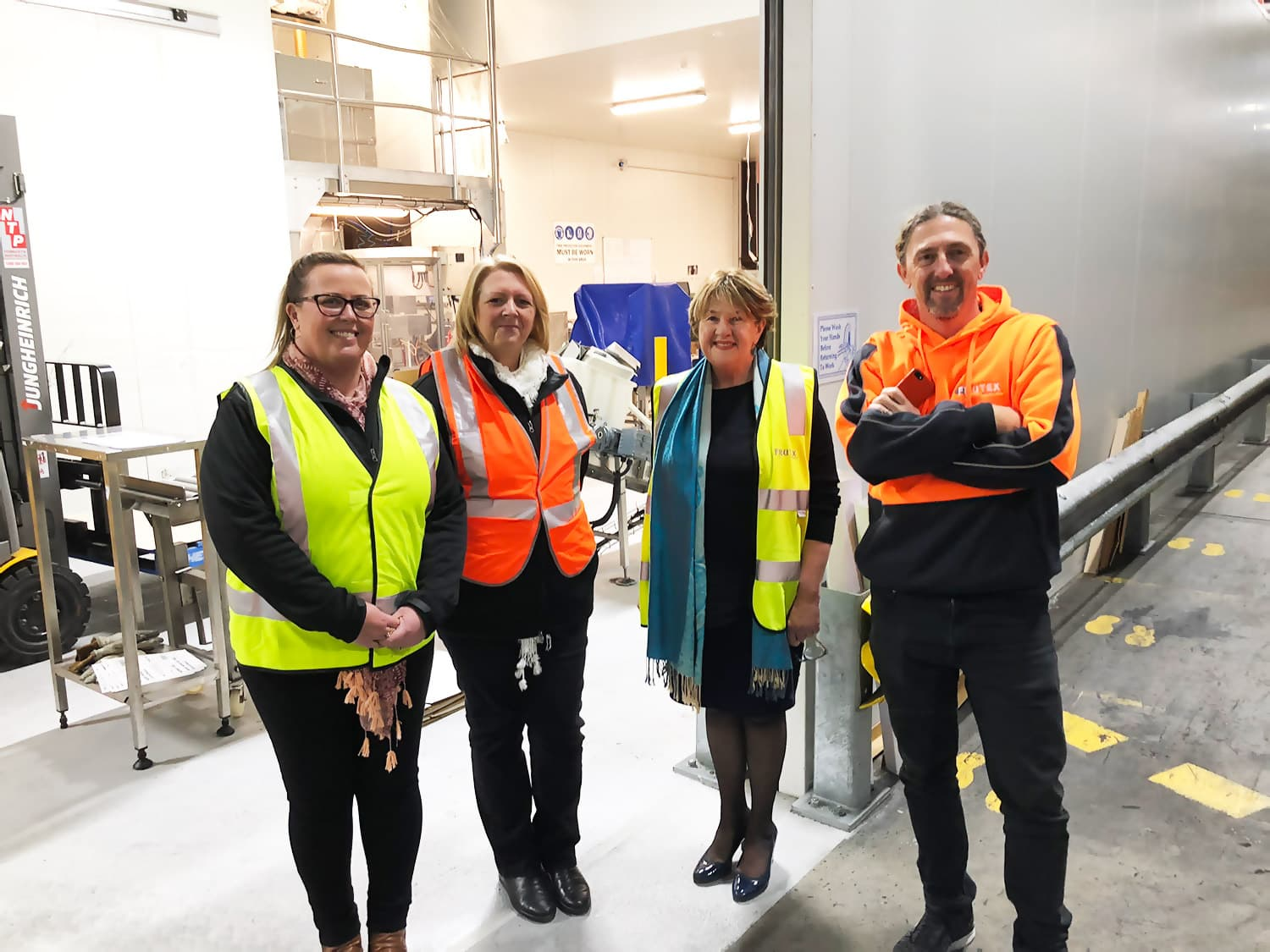 Site visit to Frutex Australia, where Single Touch Payroll has been in use since 1 July 2018