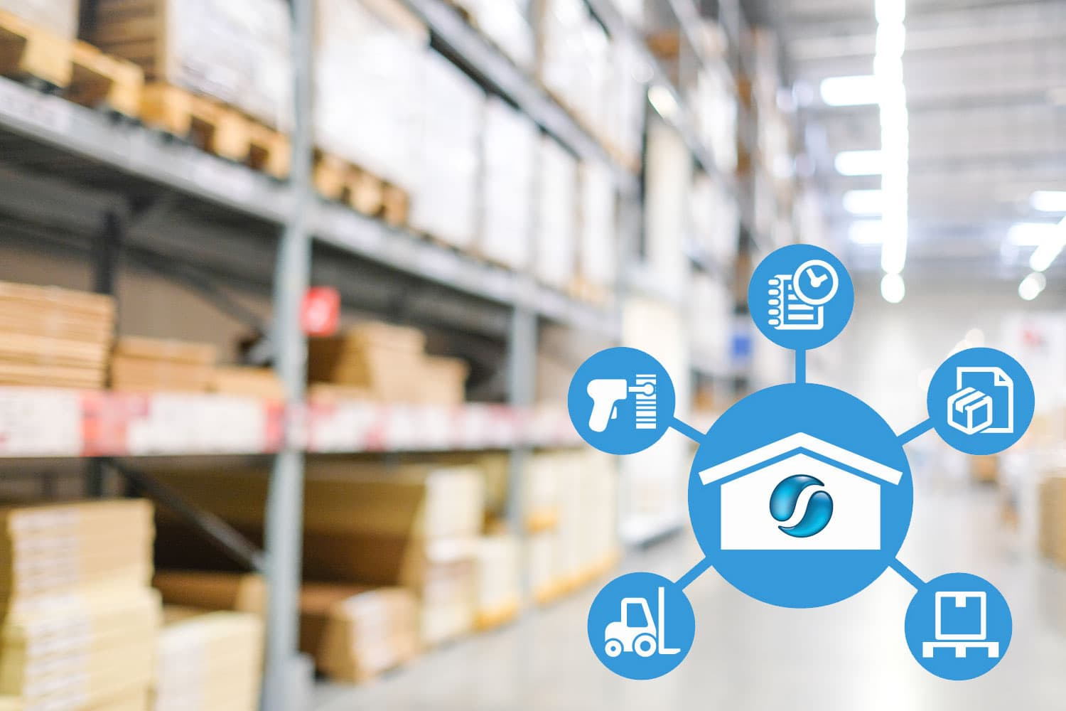 SapphireOne warehouse management application and logistics management suite