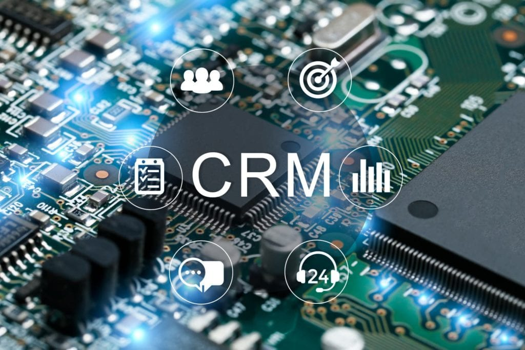 CRM software application works with the electronic industry.