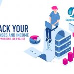 Track your expenses and Income with SapphireOne Job Projects