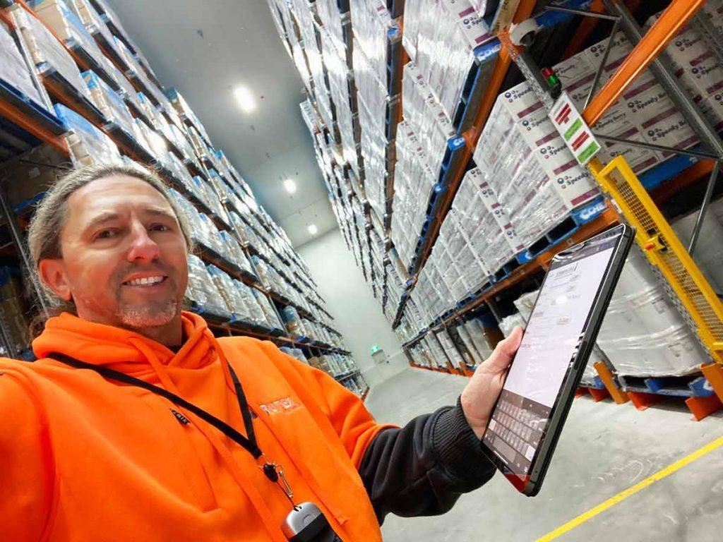 Frutex stocktaking warehouse