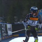 SapphireOne's Jack Adams competes at the 2021 FIS Alpine World Ski Championships in Cortina, Italy.