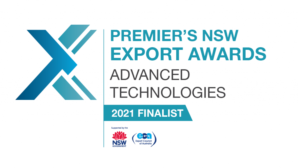 SapphireOne selected as a proud Finalist of the 2021 Premier's NSW Export Awards!